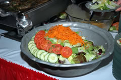 New Years Eve Detroit Dinner - Fresh Salads and other Side dishes